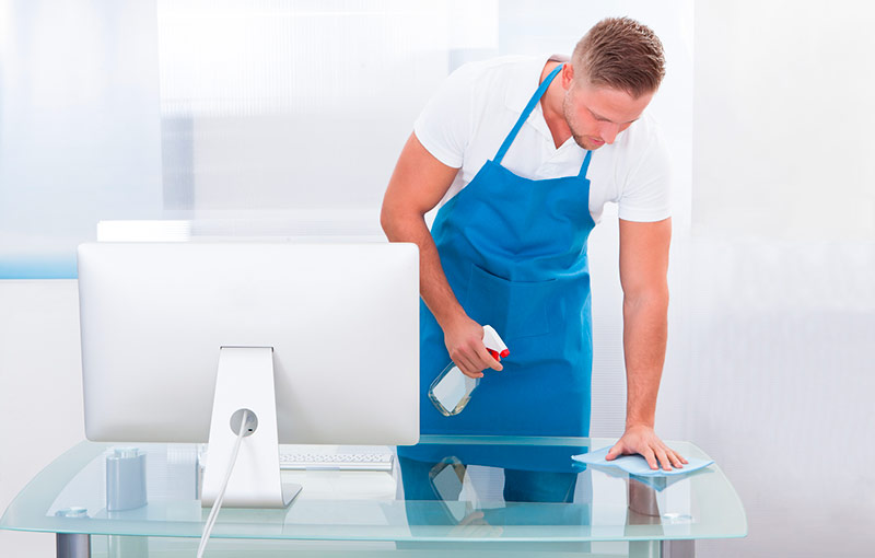 limpieza de oficinas y mantenimiento de cristales y suelos